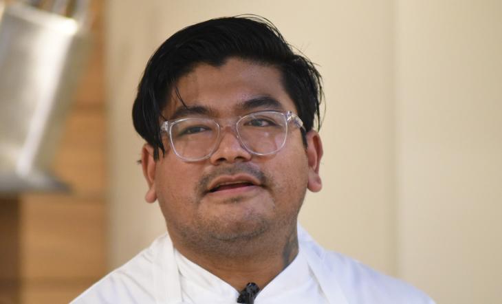 Pastry Chef Hector Guevara