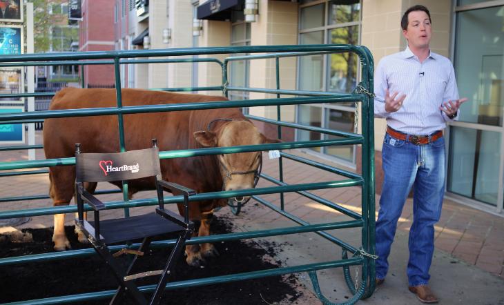 Cattle Rancher and HeartBrand Beef President Jordan Beeman