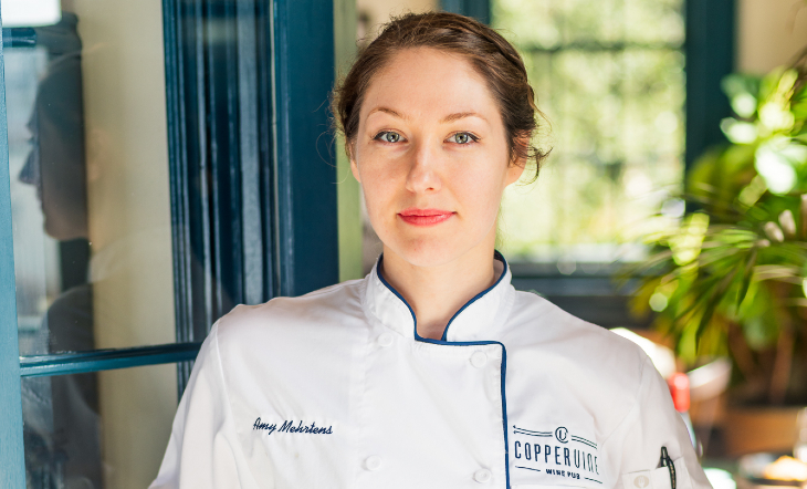 Chef de Cuisine Amy Merhrtens (Photo: Brandt Vicknair)