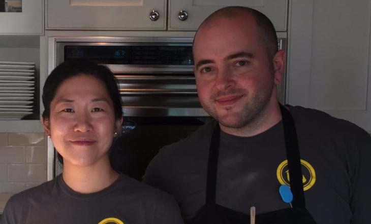 Judy Ni and Andy Tessier