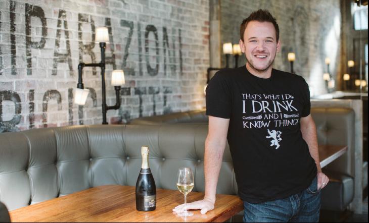 Wine Director Adam Sweders (Photo: Rebecca Peplinski)