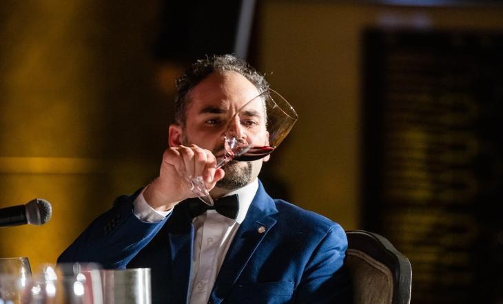 Wine Consultant Domenico Alesi (Photo: Francis Son)