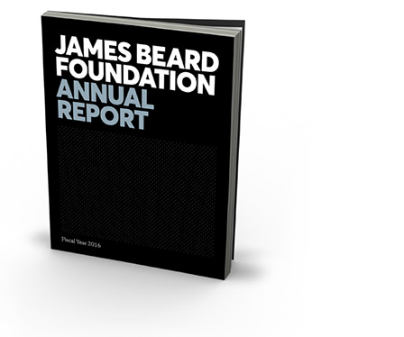 The James Beard Foundation's Fiscal Year 2016 Annual Report