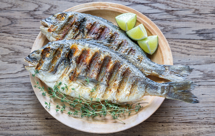 Grilled whole fish recipe james beard foundation for Grilled white fish recipes